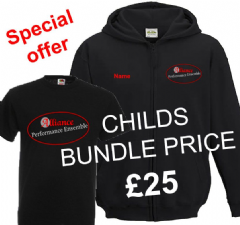 Alliance Childs T-shirt & Zip Hoodie Bundle